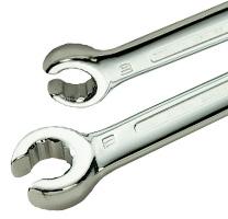 Гаечные ключи накидные, с разрезом