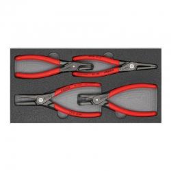 Набор съемников стопорных колец - Knipex 002001V09