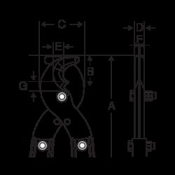 Запасные лезвия 2720-SH