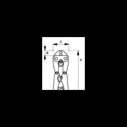 Режущая головка 4559-18B JC