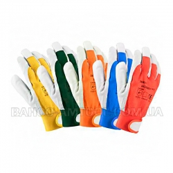 Перчатки HOBBY A1073 yellow